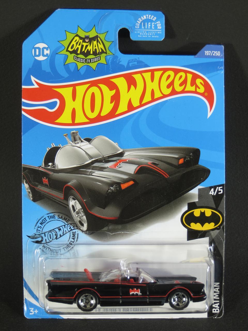 2020 Hot Wheels Batman 1966 TV Series Batmobile
