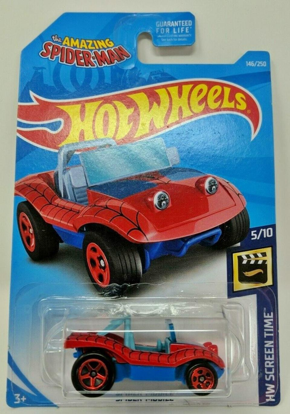 Spider-Mobile Hot Wheels