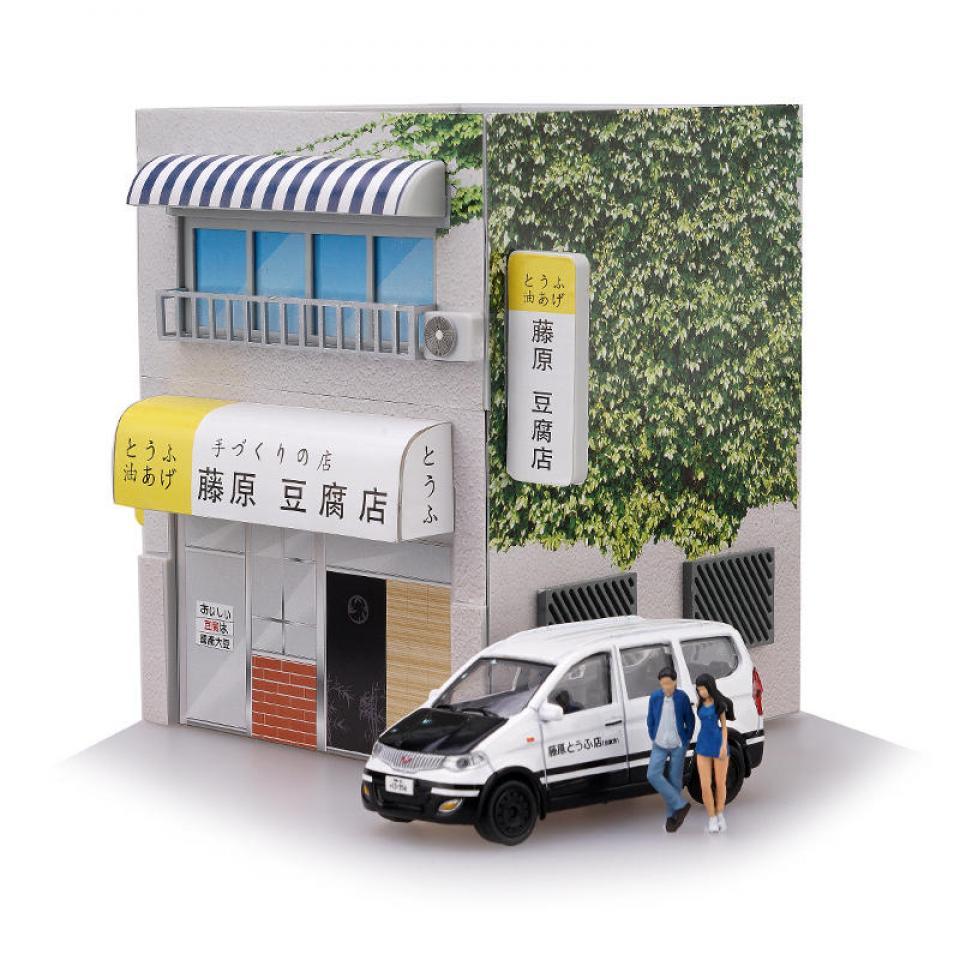 Initial D Tofu Shop com LED