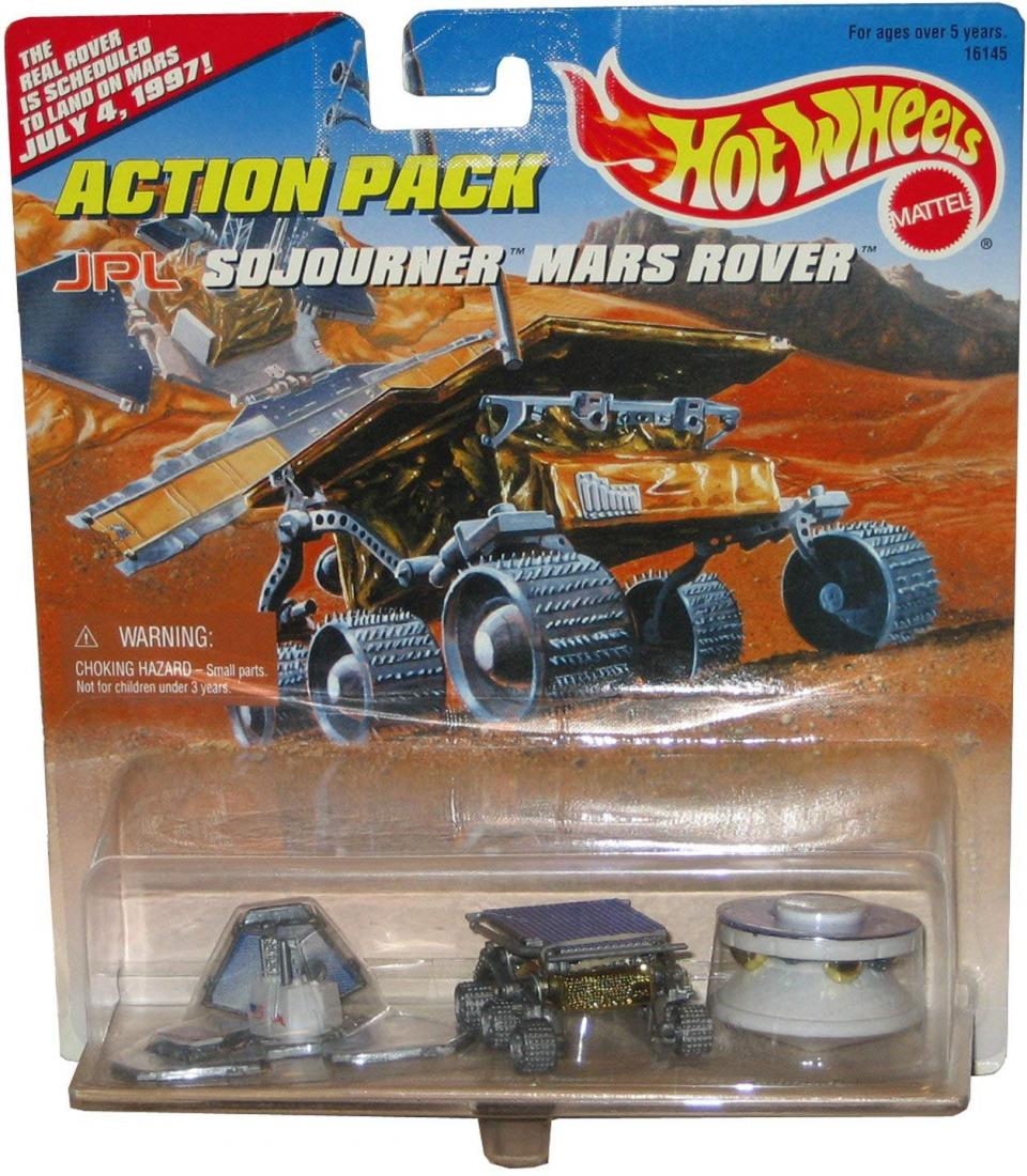 Hot Wheels Action Pack JPL Sojourner Mars Rover