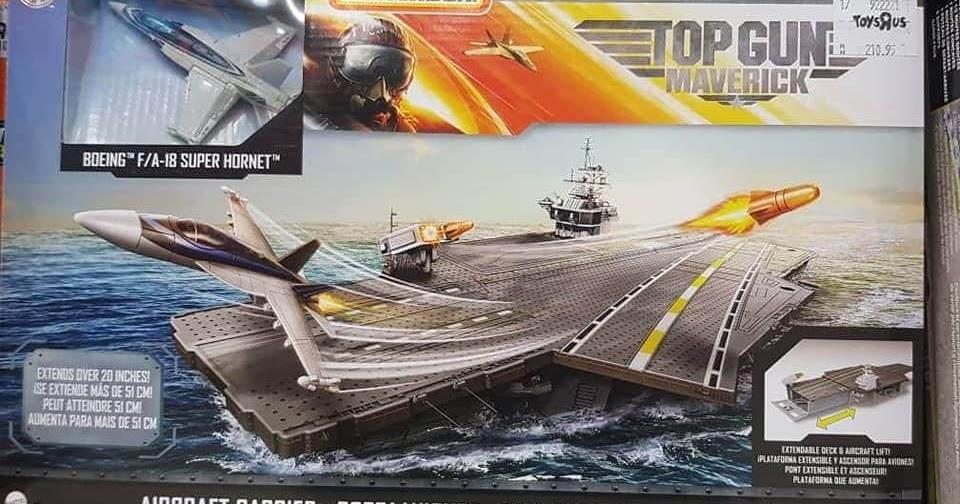 O porta-aviões de Top Gun da Matchbox