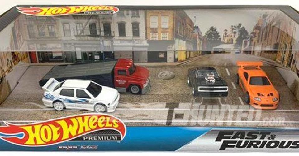 """A caixa """"premium"""" da série Fast And Furious da Hot Wheels!"""