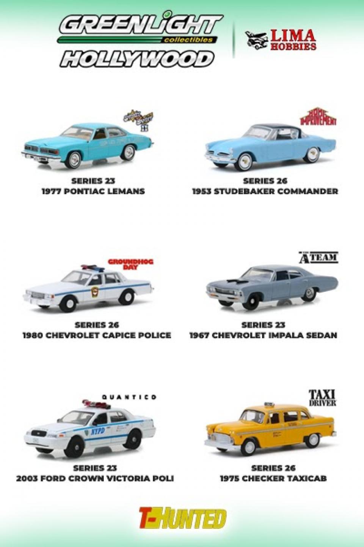 Carros de cinema na Lima Hobbies com ótimos preços!