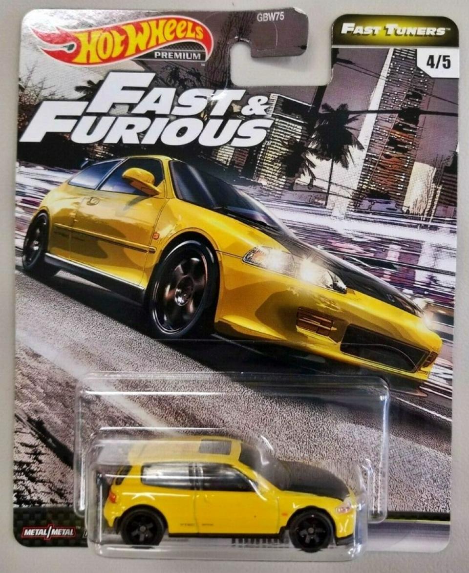 Hot Wheels Fast & Furious Premium Fast Tuners