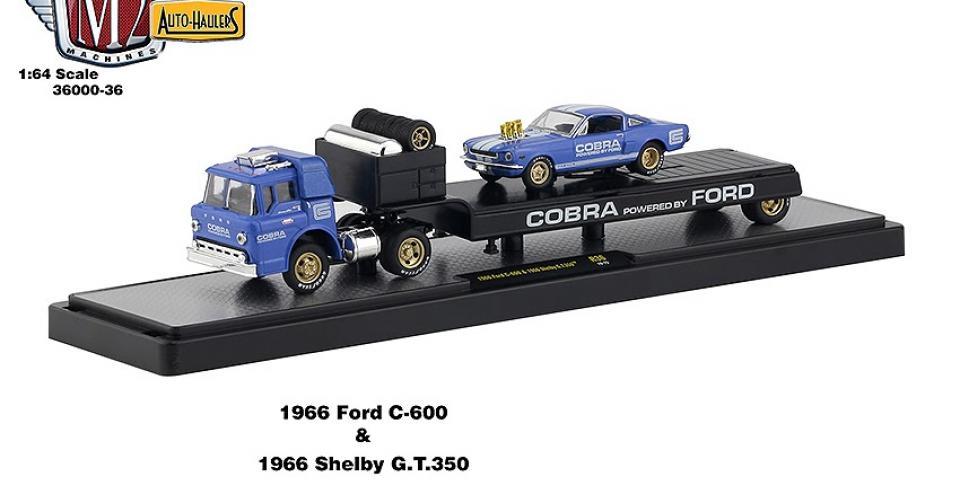Mais caminhões da série Auto-Haulers da M2