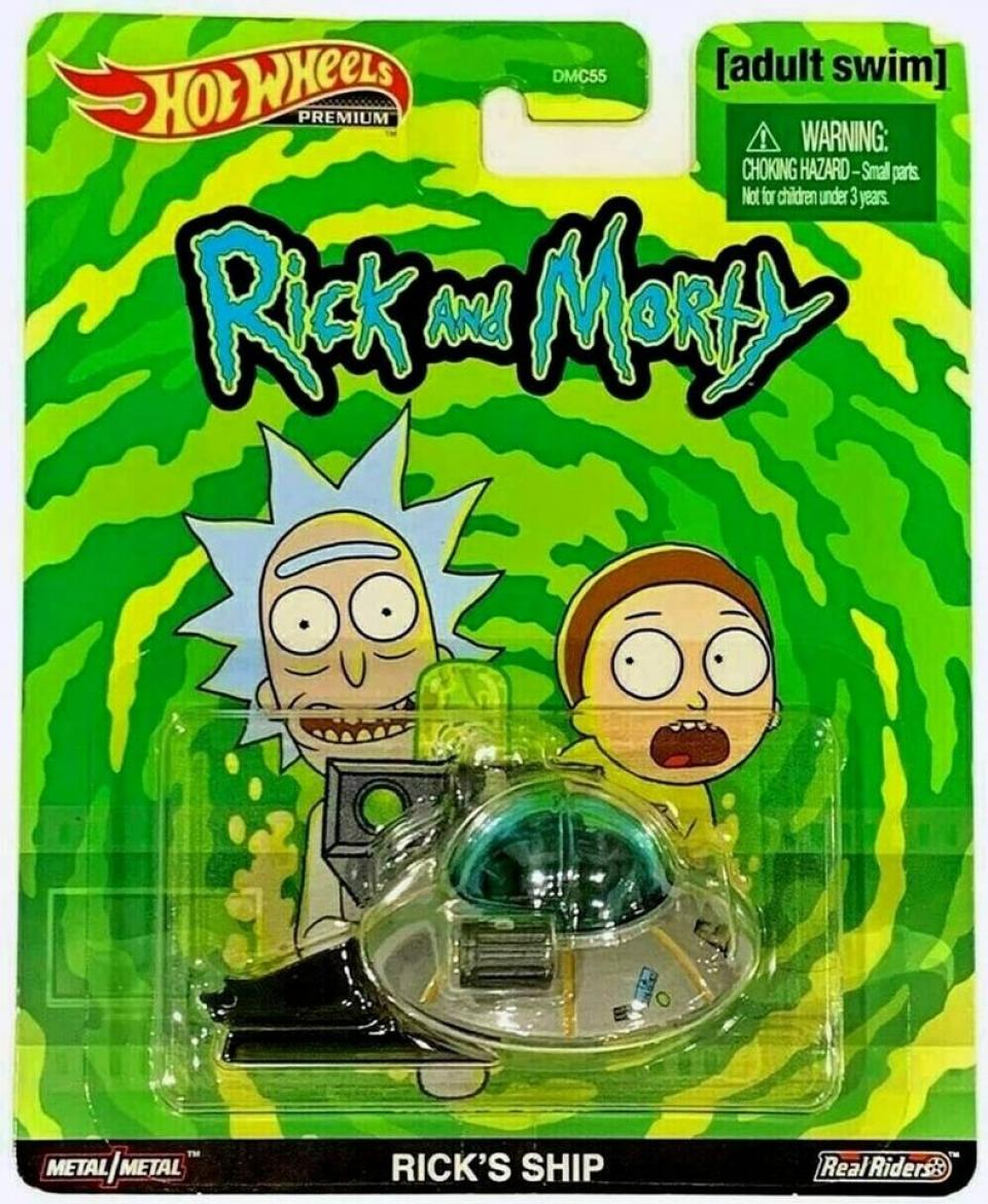 Hot Wheels Rick and Morty - Premium