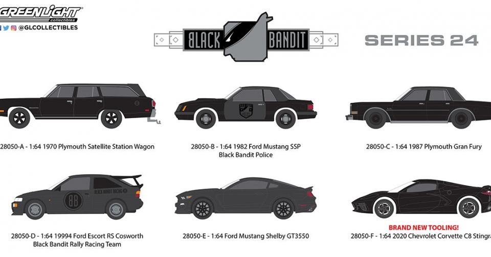 Um novo lote da série Black Bandit com o novo Corvette!