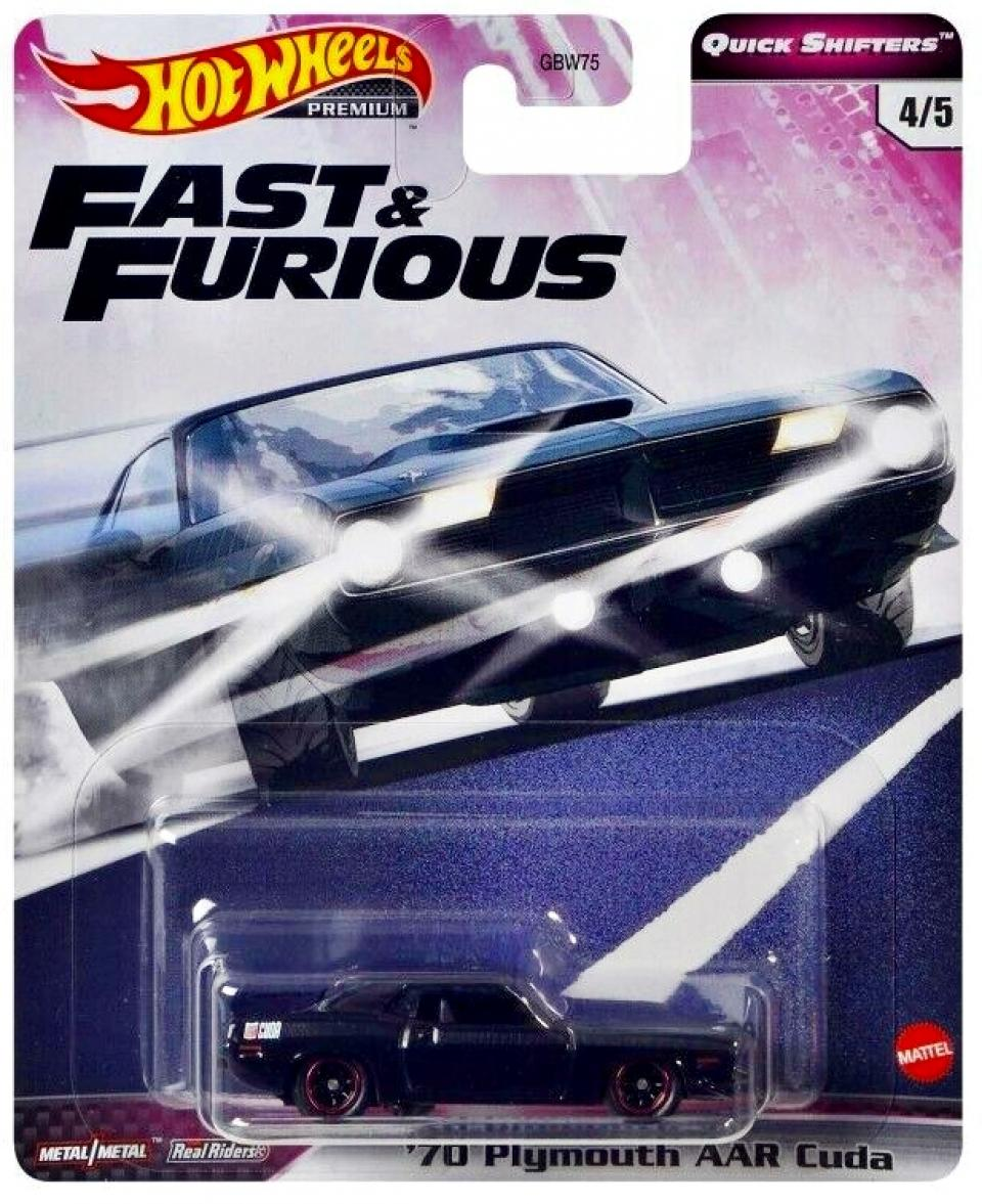 Hot Wheels Fast & Furious Premium Quick Shifters