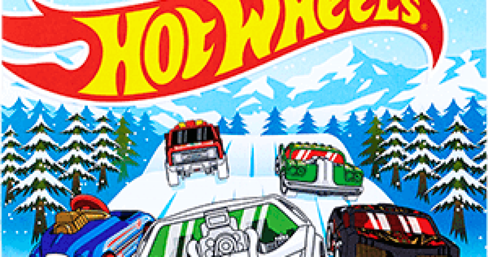 A série de Natal de 2018 da Hot Wheels