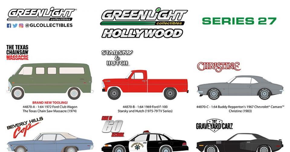 Novidades na série Hollywood da Greenlight!