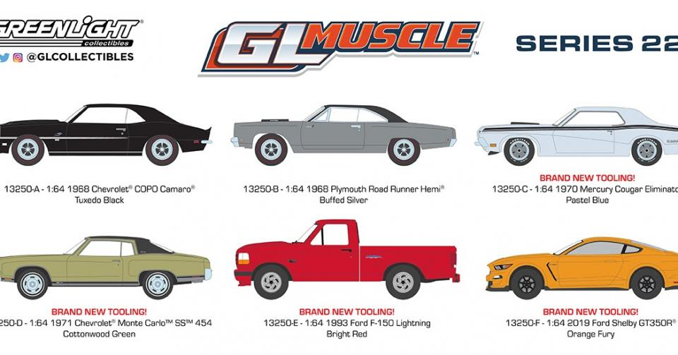 Inéditos muscle cars da Greenlight!