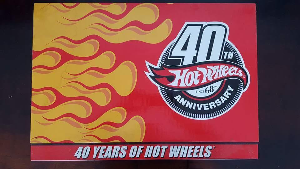 Set 40 Years of Hot Wheels