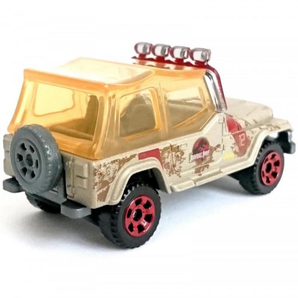 Matchbox '93 Jeep Wrangler #12 Jurassic World