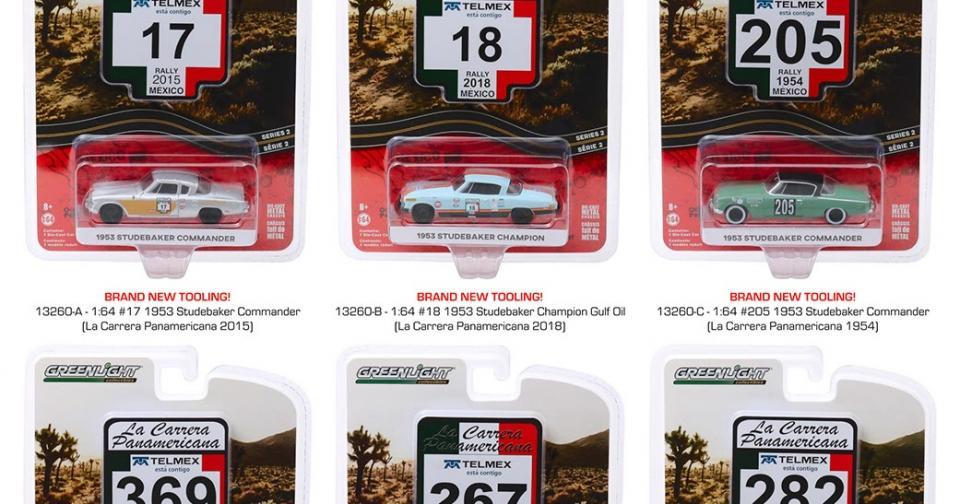 O segundo lote da série La Carrera Panamericana chegando nas lojas dos EUA