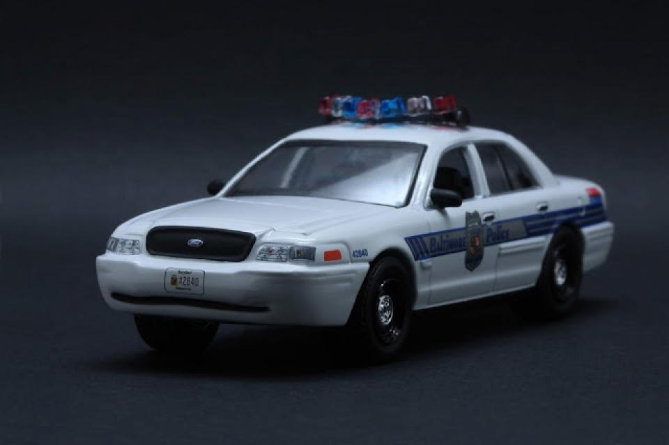 2008 Ford Crown Victoria - Baltimore, Maryland Police