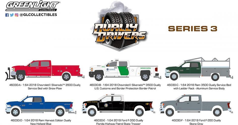 O terceiro lote da série Dually Drivers