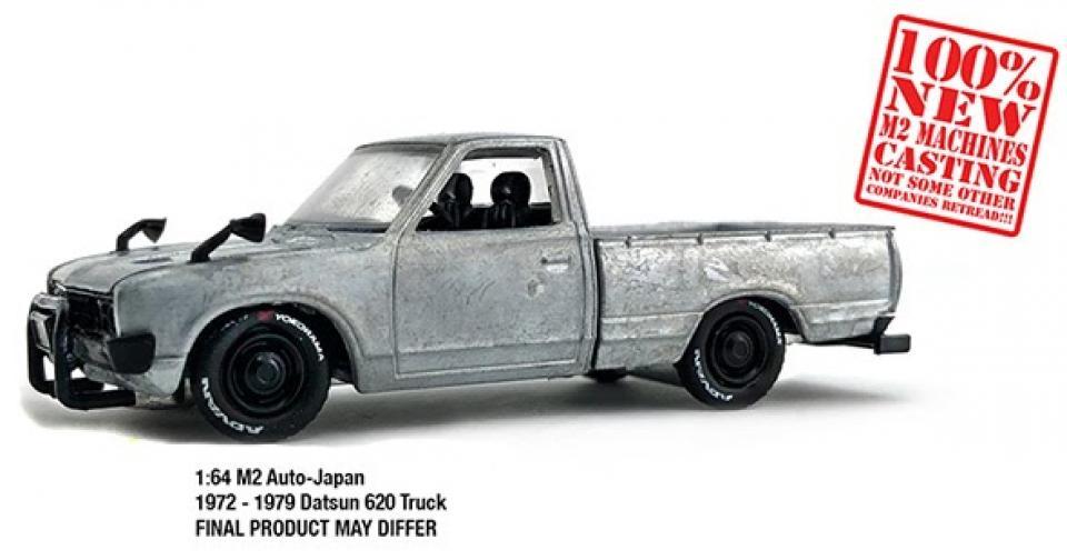Uma inédita Datsun 620 da M2 Machines!