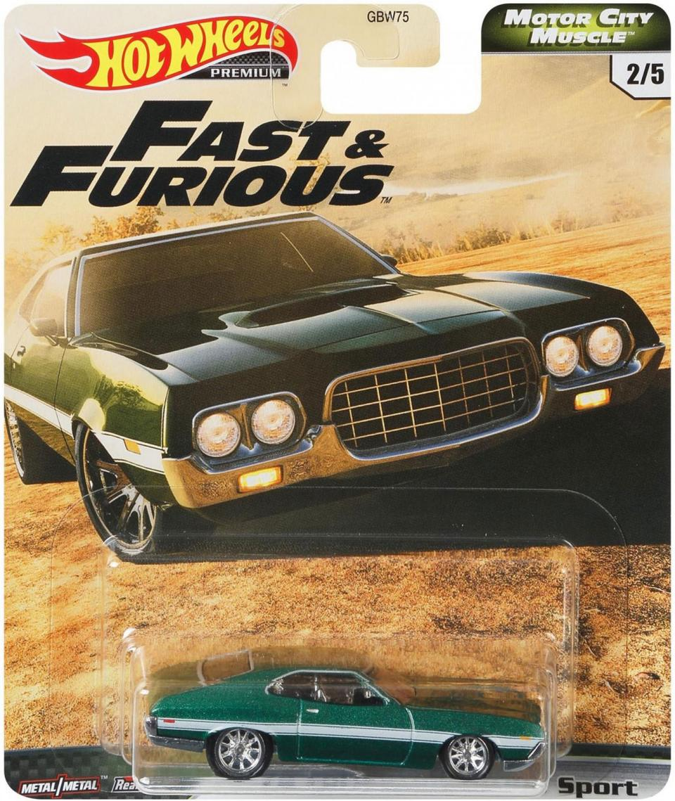 Hot Wheels Fast & Furious Premium Motor City Muscle