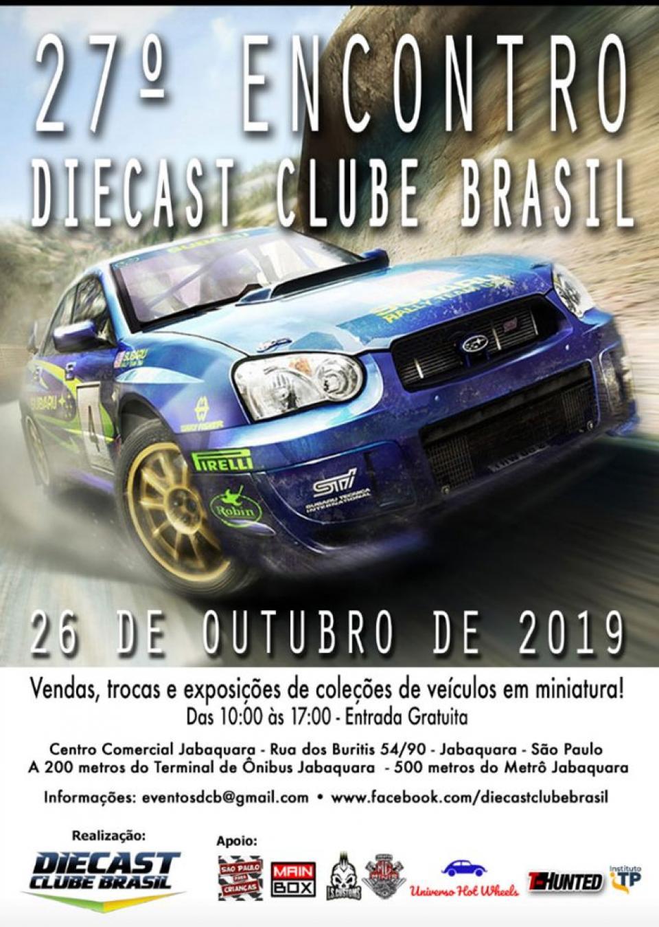 27º Encontro Diecast Clube Brasil