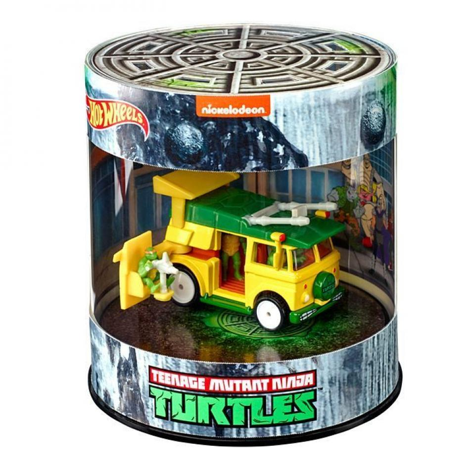 TMNT Party Wagon Hot Wheels SDCC 2019