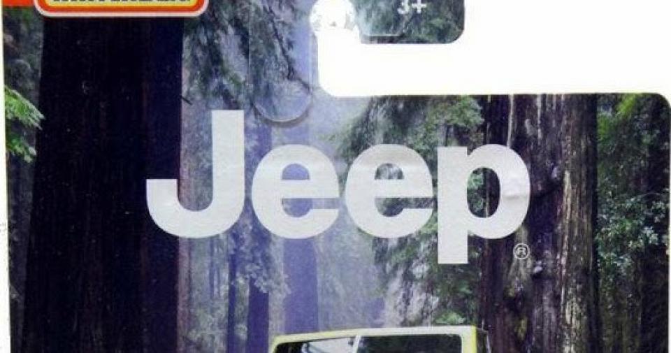 A nova série Jeep da Matchbox