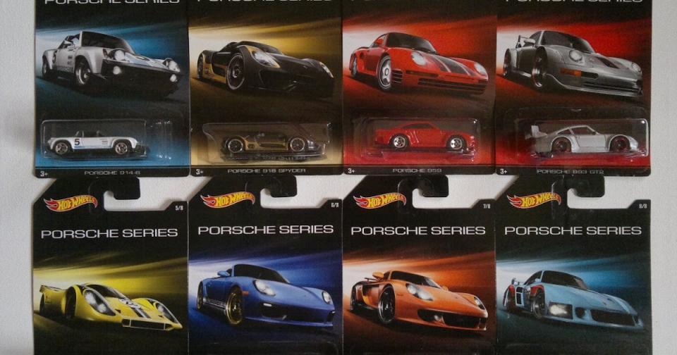 Hot Wheels Porsche Series