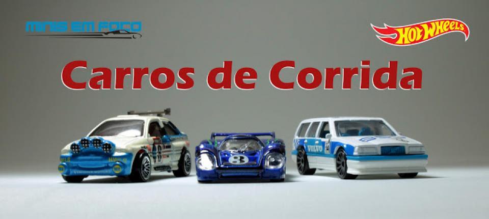 Porsche 917 LH, Ford Escort Rally e Volvo 850 Estate de Corrida