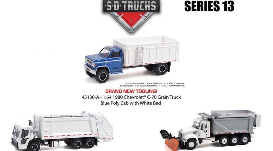 O 13º lote da série Super Duty Trucks tem novidades