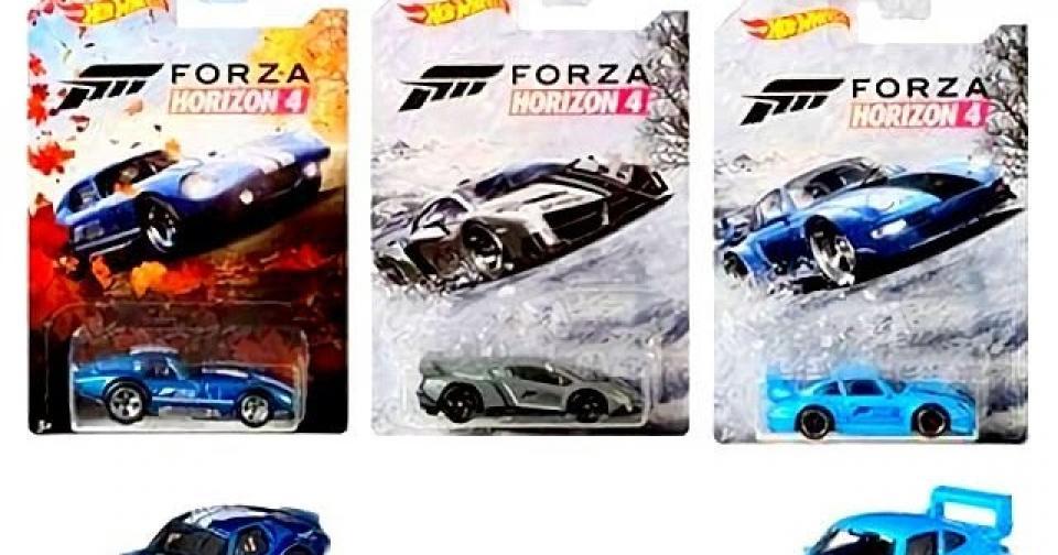A nova série Forza da Hot Wheels