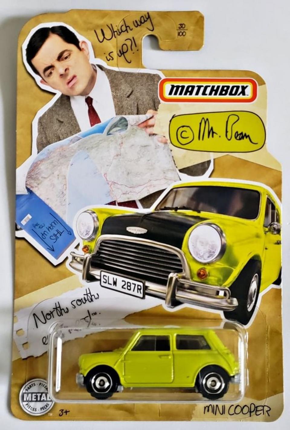 Matchbox Mr. Bean Mini Cooper