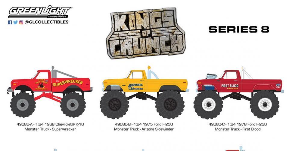 Mais um lote da série Kings of Crunch em produção