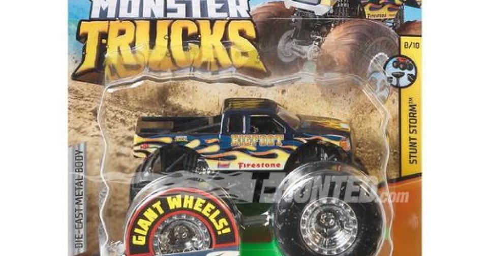 Novos Monster Trucks da Hot Wheels
