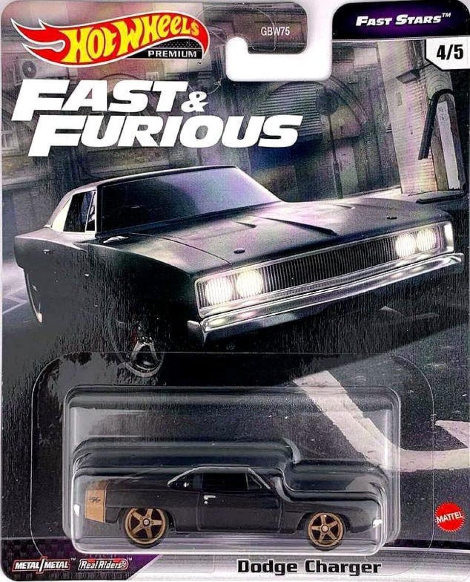 Hot Wheels Fast & Furious Premium Fast Stars