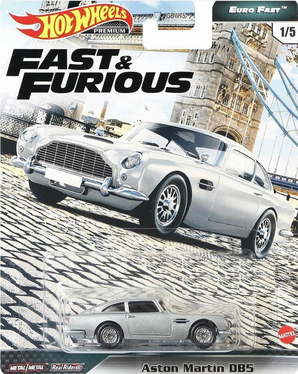 Hot Wheels Fast & Furious Premium Euro Fast