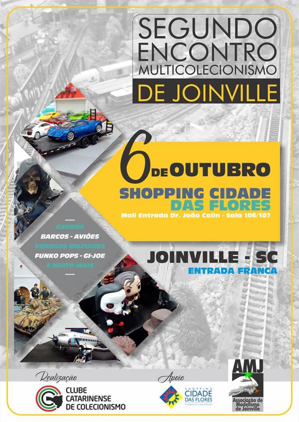 2º Encontro de Multicolecionismo de Joinville