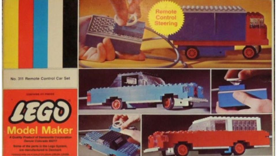 The Entire History of Remote-Controlled Lego Cars.