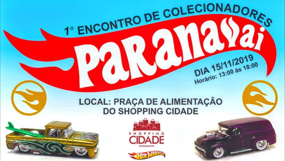 1º Encontro de Colecionadores Paranavaí