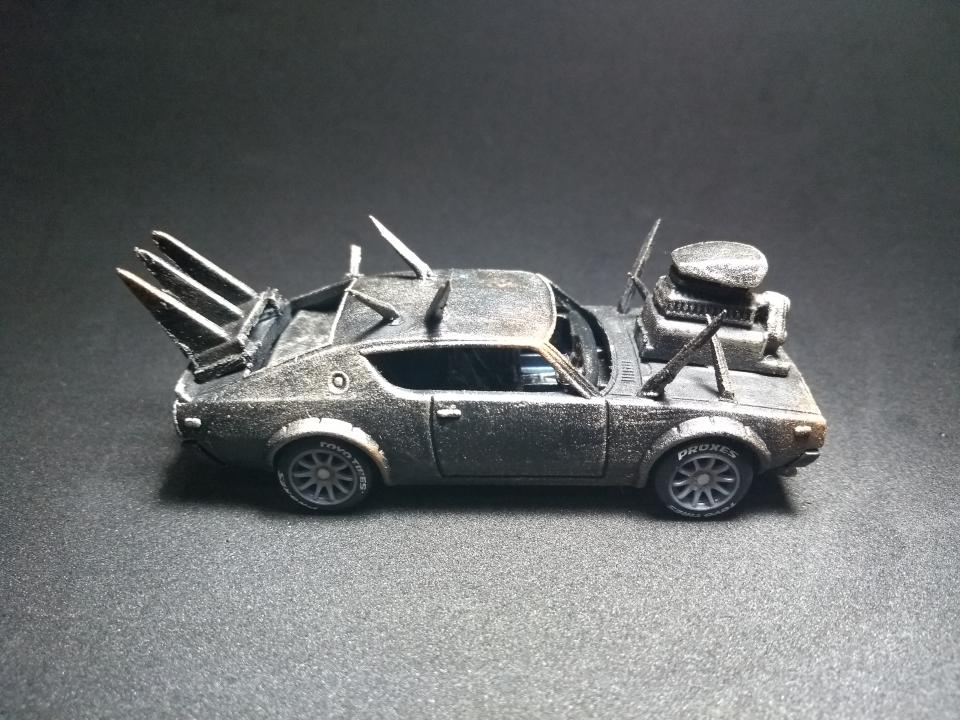Nissan Mad Max by Julio Mick