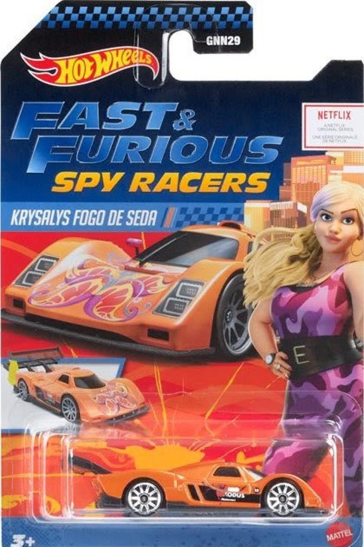 Mais dois carros da série Fast And Furious Spy Racers da Hot Wheels