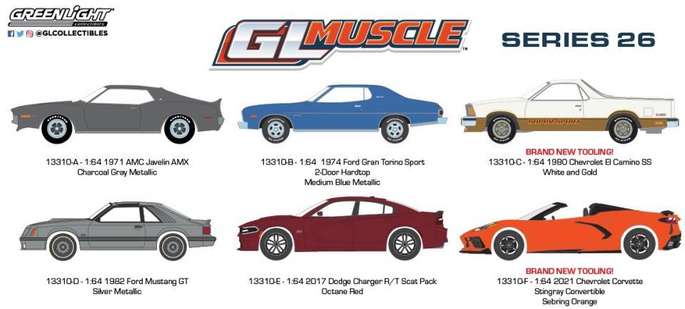Um novo lote da série GL Muscle com novidades!