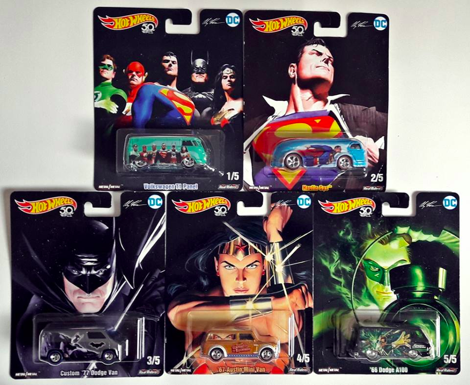 Hot Wheels Pop Culture Liga da Justiça