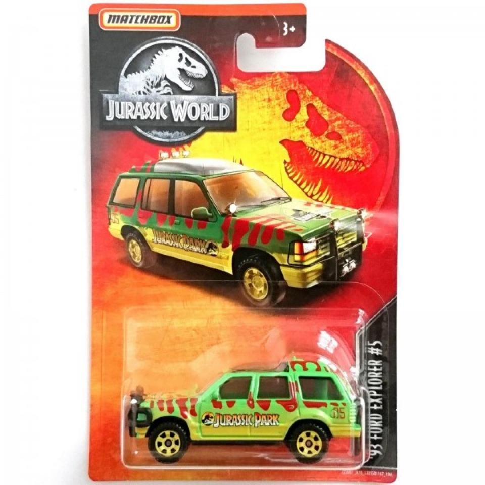 Matchbox '93 Ford Explorer #5 Jurassic World