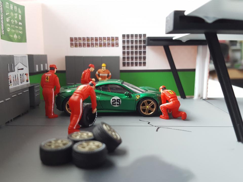 Ferrari 488 Green Jewel