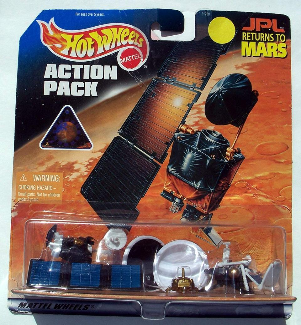 Hot Wheels Action Pack JPL Returns To Mars