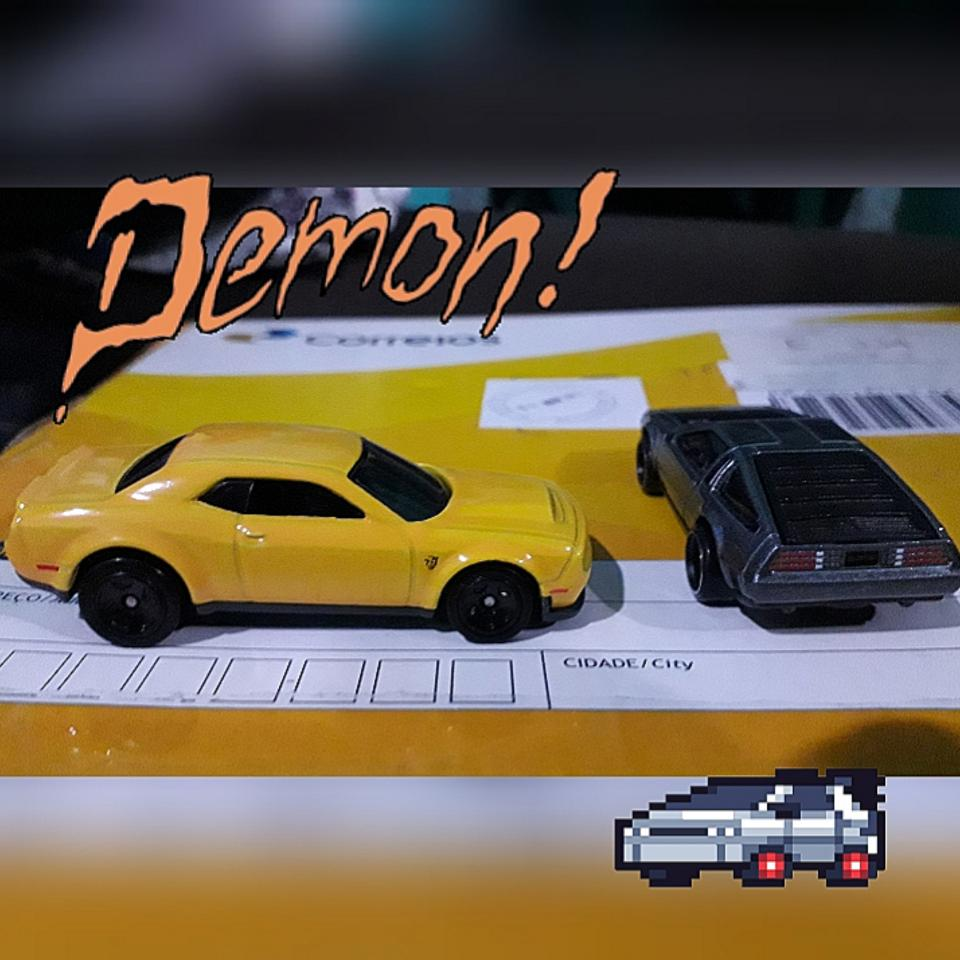 Dogde DEMON & DeLorean