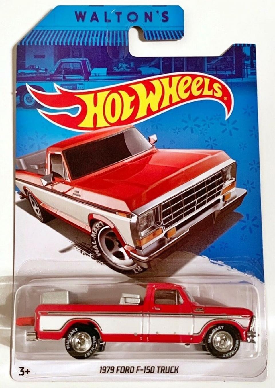 Hot Wheels 1979 Ford F-150 Truck Sam Walton