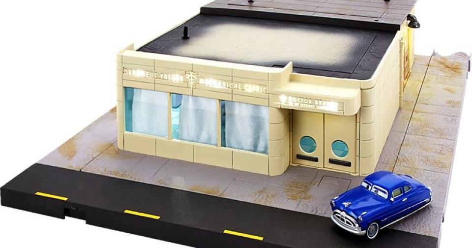 Um incrível diorama de Cars, mas que talvez não seja produzido…