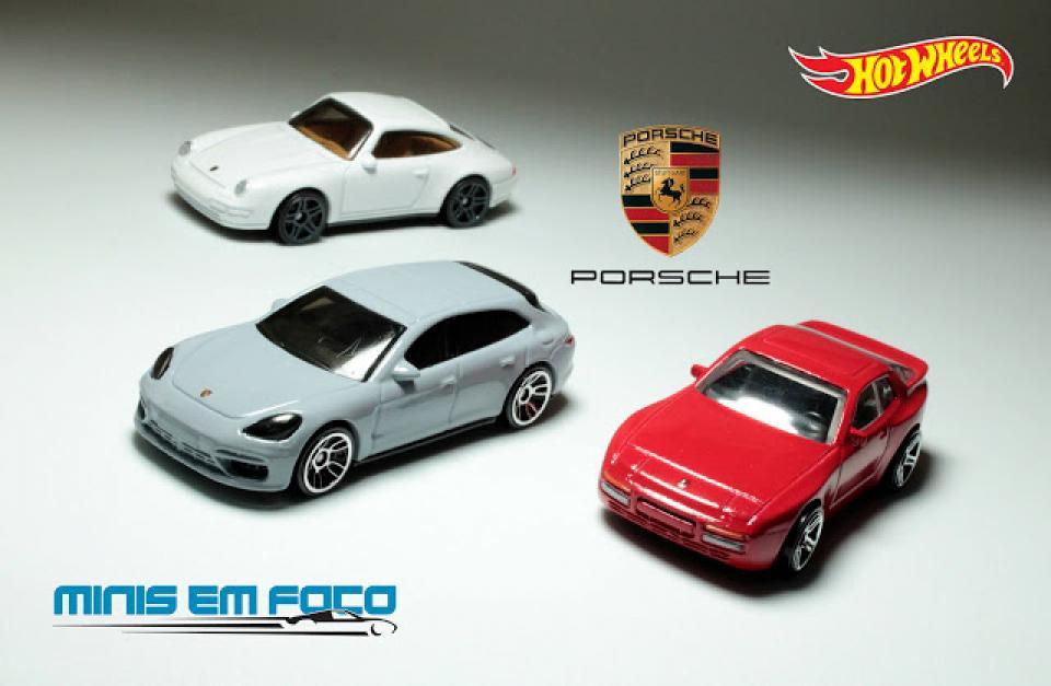 Os novos Porsche da Hot Wheels