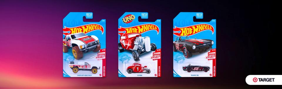 HOT WHEELS TARGET RED EDITION 2021 – MIX D