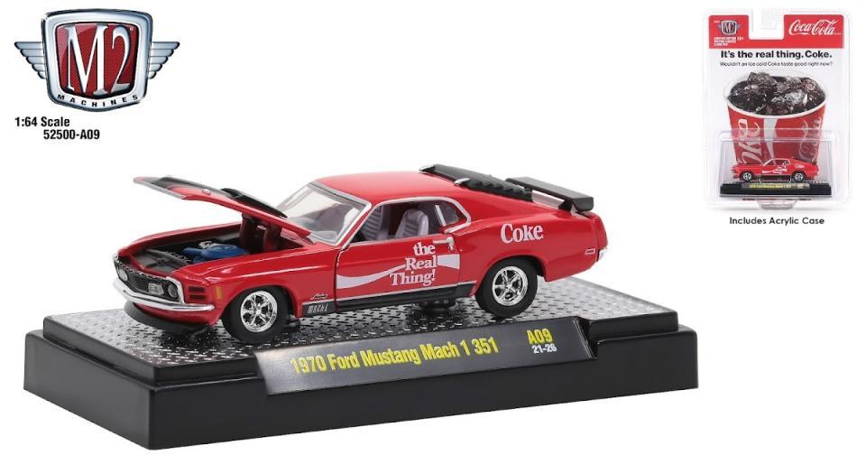 Mais carros da Coca-Cola da M2